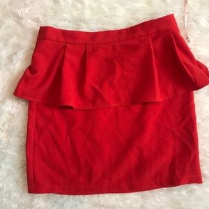 Red Skirt Small